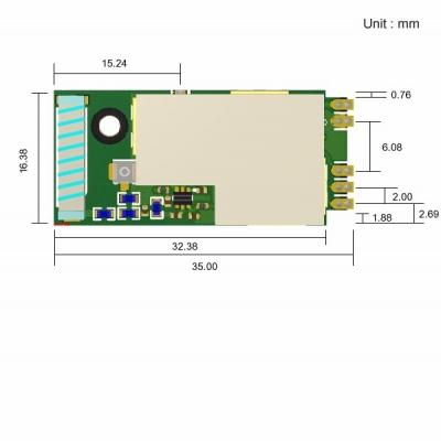 LoRa 410~525MHz Low power consumption High sensitivity Transceiver Module
