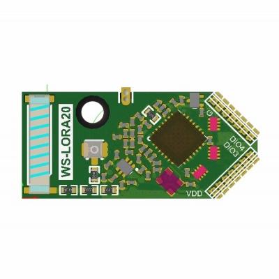 LoRa 410~525MHz高感度低功耗雙向模組
