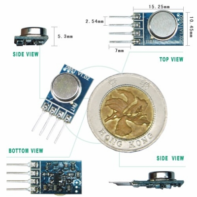 Wireless RF Transmitter Module
