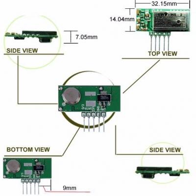 TWS-HS RF Transmitter Module