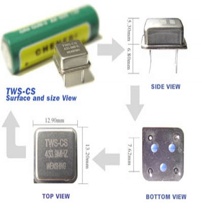 TWS-CS Wireless RF Transmitter Module