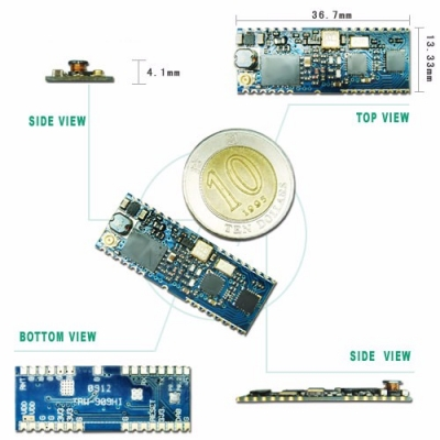 Wireless Hopping Two-way Transceiver Module