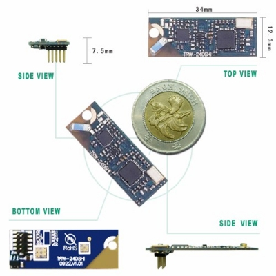 TRW-24DSHI 2.4G Direct Sequence Spread Spectrum Hi Power RF Module