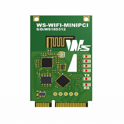 WS-WIFITOMINIPCI 2.4GHz ISM BAND WiFi MODULE