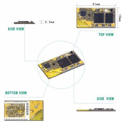 TRW-24BUS2+PA 2.4GHz Wireless Bluetooth Transceiver Module (Include PA)