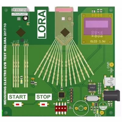 LoRa Module EVB Test