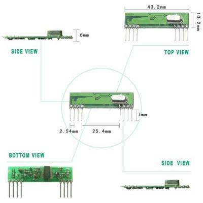 RWS-438 超外差高頻接收模組