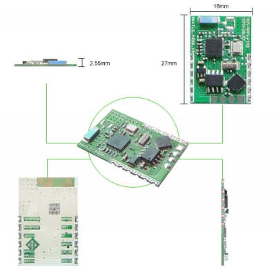 WS-WIFI-V103 2.4GHz ISM BAND WiFi MODULE