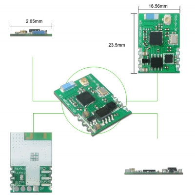WS-WIFISMD 2.4GHz ISM BAND WiFi MODULE