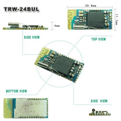 TRW-24BUL 2.4GHz Bluetooth 2.0V Low Working Voltage Data Module