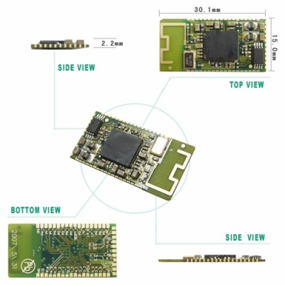 TRW-24BUF 2.4GHz 藍牙無線傳輸模組