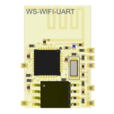 WS-WIFI-UART 2.4GHz ISM BAND WiFi MODULE
