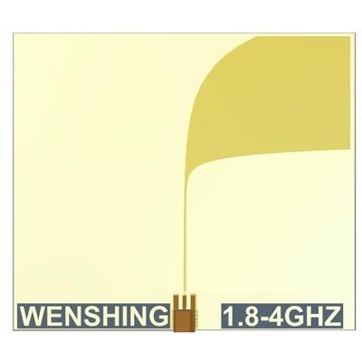 1.8~4GHz Vivaldi antenna